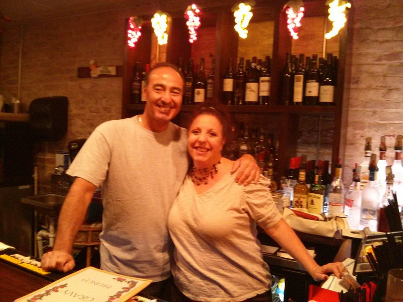 Roseann and Joe, proprietors of Red Gravy restaurant.