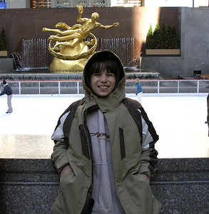 Alex at Rockefeller Plaza
