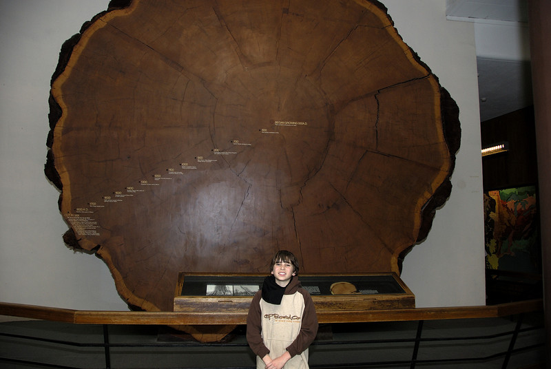 Alex and California Giant Oak
