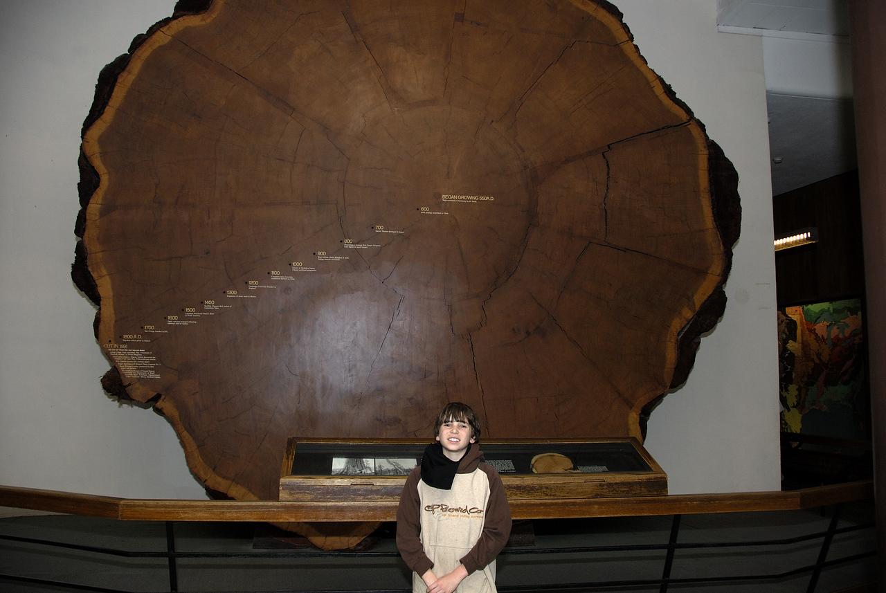 Alex and California Giant Oak