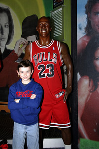 Larry and Michael Jordan