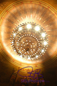 Chandelier in the Academy of Music in Philly