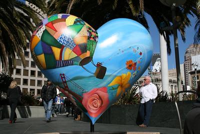 Feb. 18/08 - Outside Union Square, San Francisco