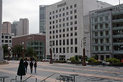 Feb. 18/08 - Union Square, San Francisco