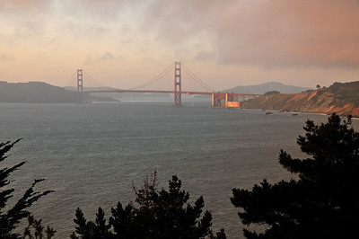 Golden Gate Bridge from Land's End