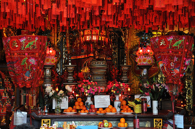 Temple in China Town