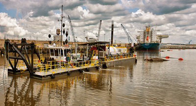 Houston Ship Channel - dredging