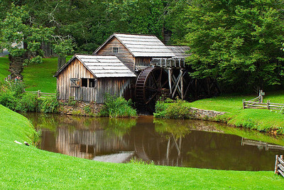 Mabry Mill - a favorite stop for us to photograph - 2009
