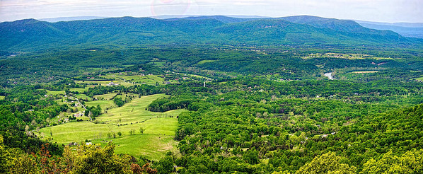 Shenandoah Valley from Sky Line Drive