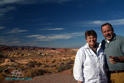 Dynamic duo at Valley of Fire State Park.