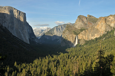 Last views before leaving Yosemite valley - Bridalveil Falls