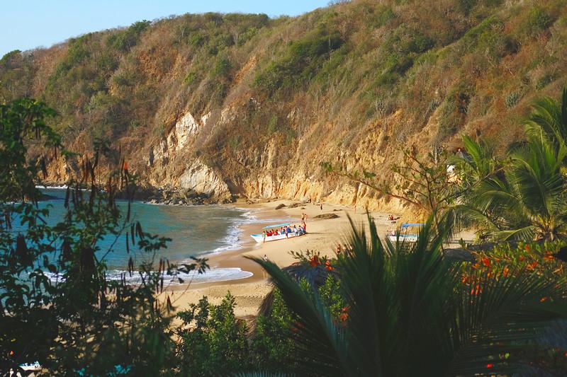 Playa Mazunte. March 2019