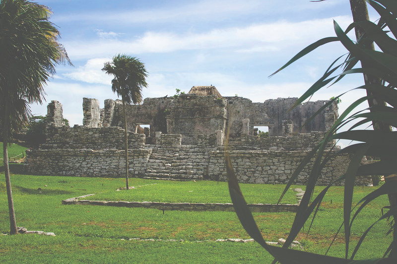 Las ruinas de Tulum. August 2017