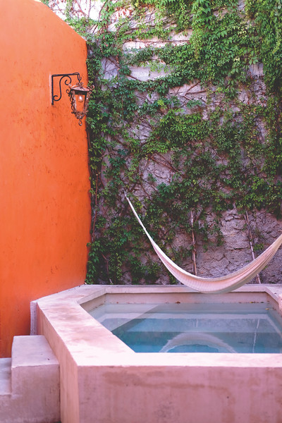 Pool in a historical home, Mérida. March 2018