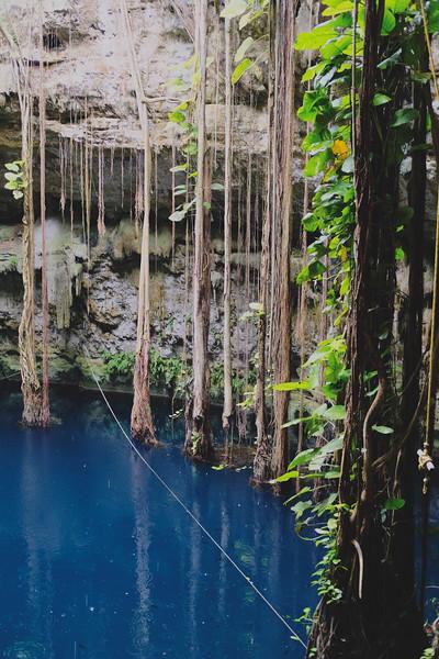 Cenote San Lorenzo Oxman. June 2018