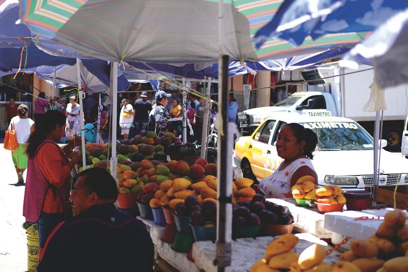 Mercado Lucas de Galvéz, Mérida. March 2018