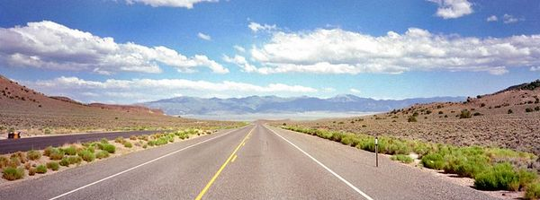 US-50 The Loneliest Road