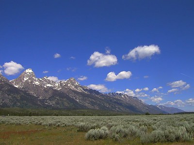 Jackson, WY and the Tetons