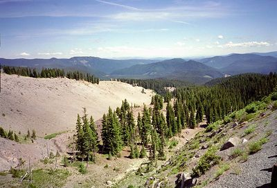 View from mount Hood