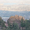 Boulder from Flagstaff Mountain Road