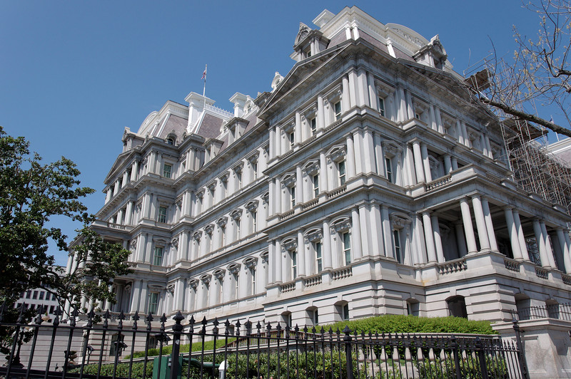 "Old Executive Office Building (now the Eisenhower Executive Office Building).  <a href=""http://www.whitehouse.gov/about/eeob"">http://www.whitehouse.gov/about/eeob</a>"