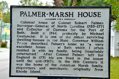 Bath NC Historic Markers