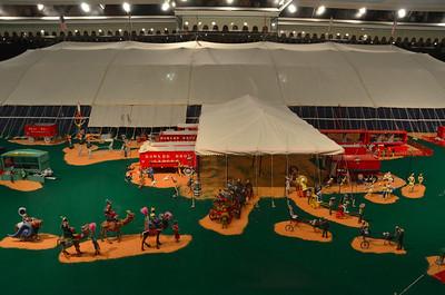 Model circus, Ringling Museum, Sarasota, Florida