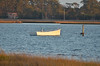 Beaufort, NC<br /><br />Skiff in the North River, Beaufort.