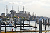 Delivery trip of Sarah Brooks, Hilton Head/Fernandina Beach to Fort Lauderdale<br /> <br /> John McCulloch, Eric Norman, Katherine HInckley, Dan Hinckley<br /> <br /> View south at the marina. One of the two paper mills.