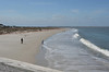Delivery trip of Sarah Brooks, Hilton Head/Fernandina Beach to Fort Lauderdale<br /> <br /> John McCulloch, Eric Norman, Katherine HInckley, Dan Hinckley<br /> <br /> Out at the fishing pier at Fort Clinch State Park, looking west in the channel.