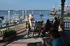 Delivery trip of Sarah Brooks, Hilton Head/Fernandina Beach to Fort Lauderdale<br /> <br /> John McCulloch, Eric Norman, Katherine HInckley, Dan Hinckley<br /> <br /> At the marina in Fernandina Beach, waiting for a ship (thanks John McPhee)