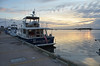 Delivery trip of Sarah Brooks, Hilton Head/Fernandina Beach to Fort Lauderdale<br /> <br /> John McCulloch, Eric Norman, Katherine HInckley, Dan Hinckley<br /> <br /> At the face dock at the Fernadina Beach marina.