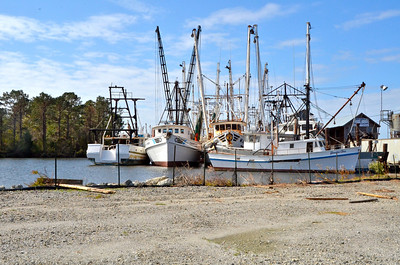 Swan Quarter, NC, Fishing Boats