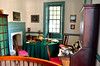 Williamsburg. The study in Wythe's house.