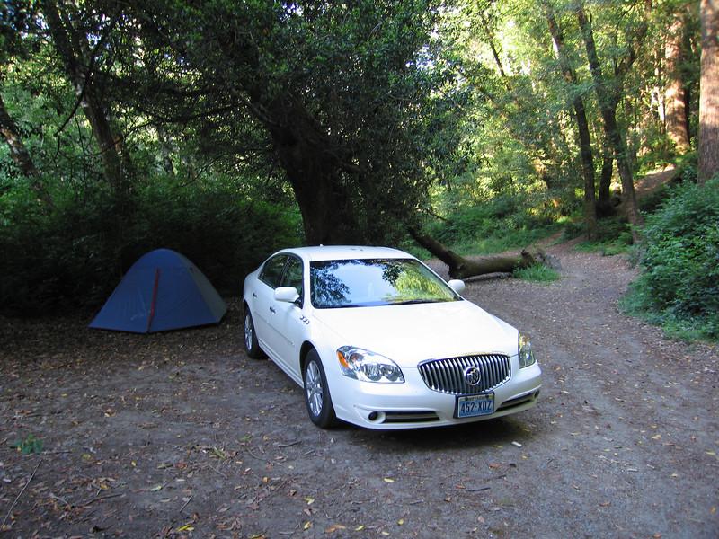 In het weekend normale campings vol