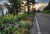 Around Mt. Rainier after sunrise