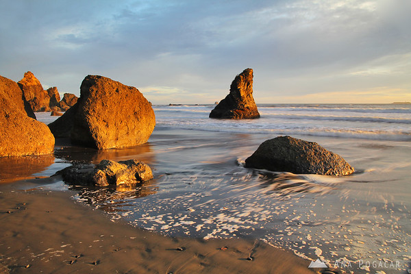 Ruby Beach in the sweet late afternoon light