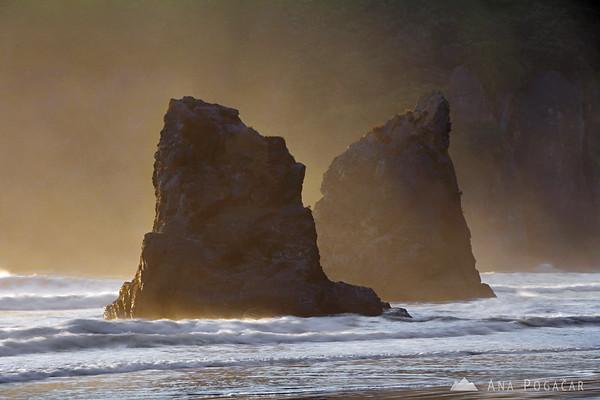 Ruby Beach seastacks