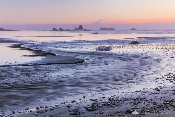 Ruby Beach at sunrise