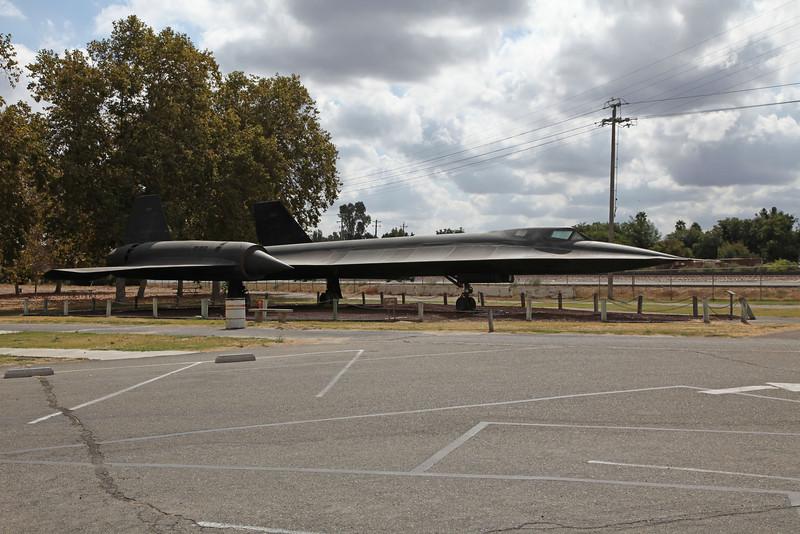 USA 2011 -  Castle Air Museum, Atwater - SR-71 Blackbird