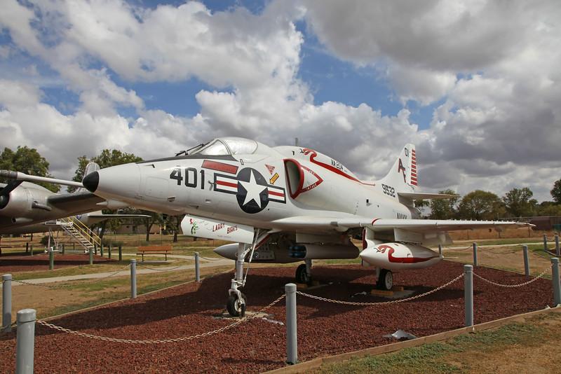 USA 2011 -  Castle Air Museum, Atwater - A-4 Skyhawk