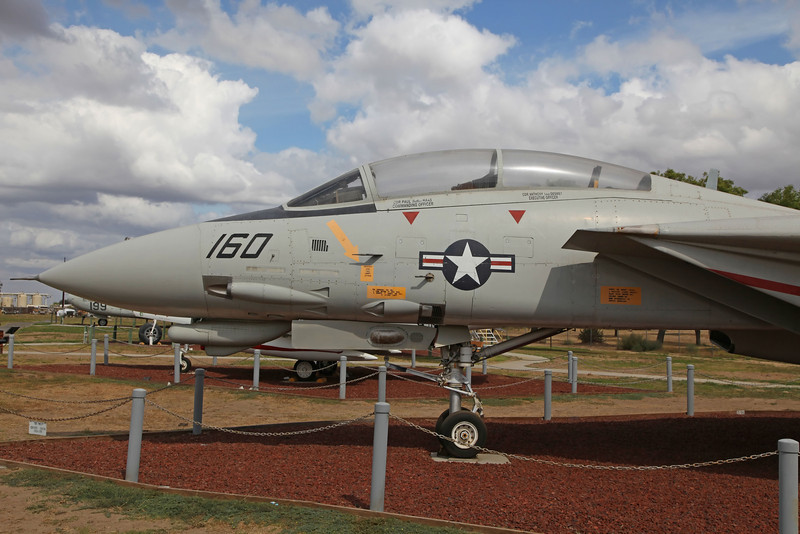 USA 2011 -  Castle Air Museum, Atwater - F-14D Tomcat