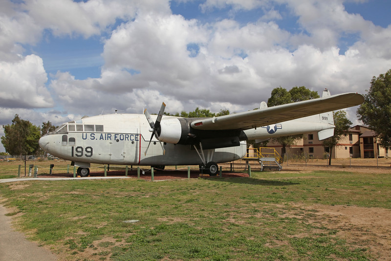 USA 2011 -  Castle Air Museum, Atwater- C-119C Flying Boxcar