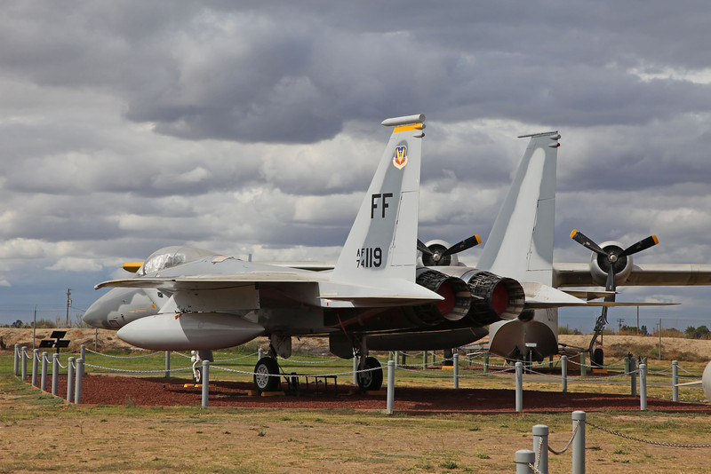 USA 2011 -  Castle Air Museum, Atwater- F-15A Eagle