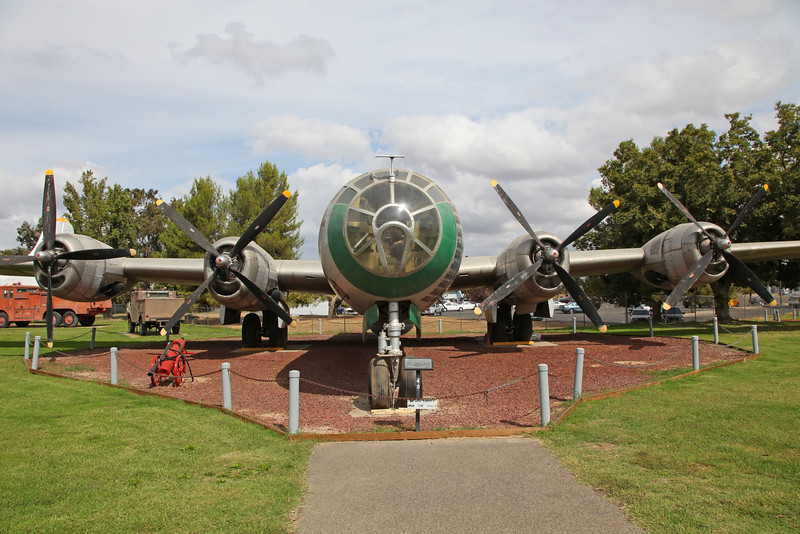 USA 2011 -  Castle Air Museum, Atwater - B-29 Superfortress