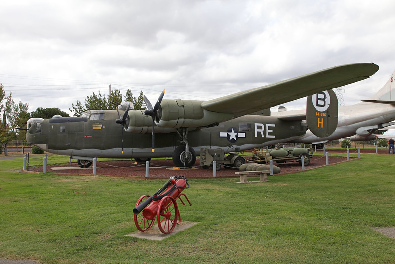 USA 2011 -  Castle Air Museum, Atwater - B-24M Liberator