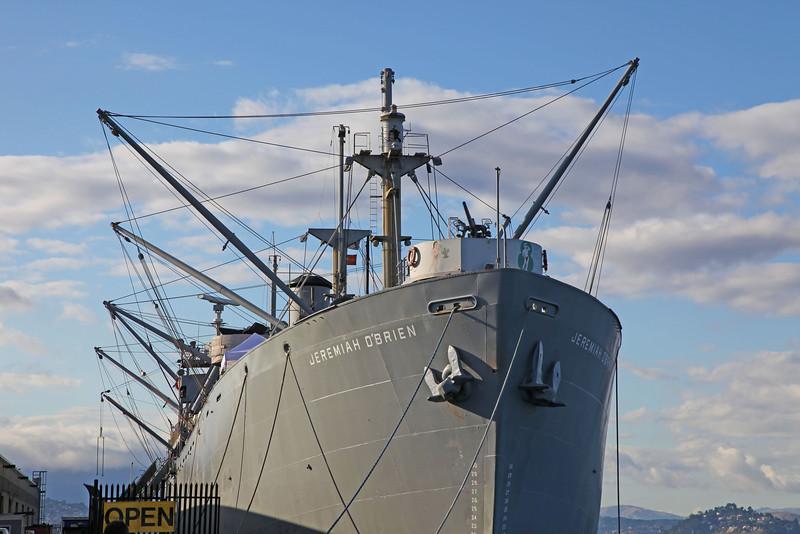 "USA 2011 - San Francisco<br /> Liberty ship ""Jeremiah O'Brien"""