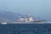 USA 2011 - San Francisco Fleet Week - Ship Parade - USS Milius (DDG 69)