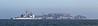 USA 2011 - San Francisco Fleet Week - Ship Parade<br /> Alcatraz - USS Antietam (CG 54)