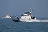 USA 2011 - San Francisco Fleet Week - Ship Parade<br /> US Coast Guard & Police